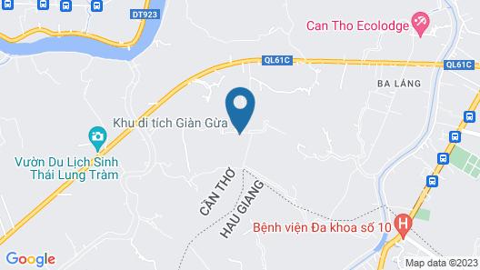 Mekong Daniel Bungalow Map