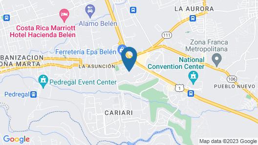 Wyndham San Jose Herradura Hotel & Convention Center Map