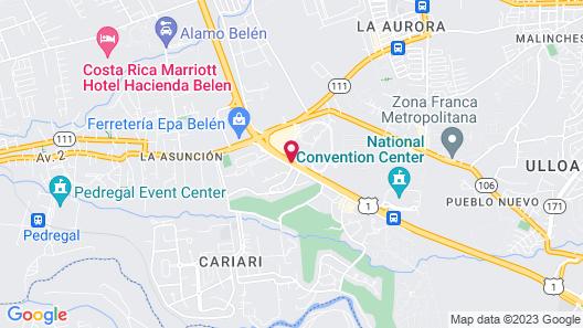 City Express San Jose Airport Map