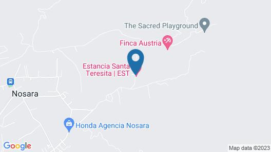 Estancia Santa Teresita Map