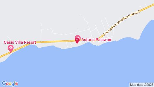 Astoria Palawan Map