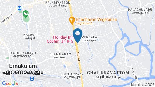 Holiday Inn Cochin Map