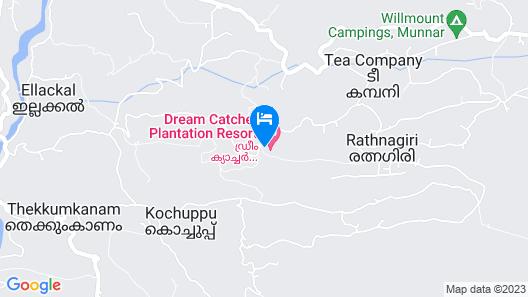 Dream Catcher Plantation Resort Map