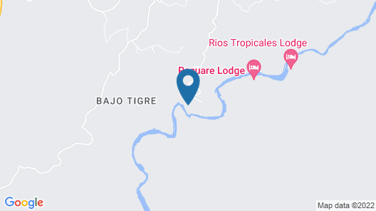 Pacuare Lodge Map