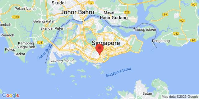 Map showing KidsCode SG