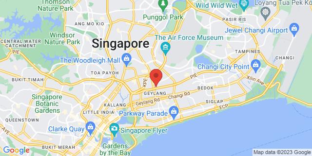 Map showing StarHub Green