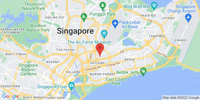 Map showing Gramercy Music