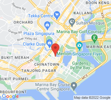 Map showing Harry's @ Boat Quay