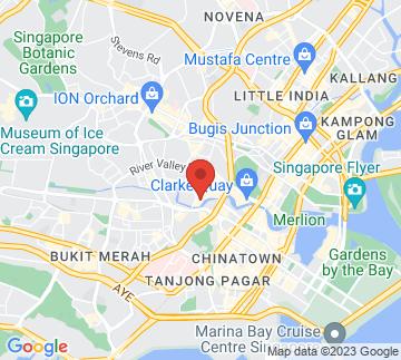 Map showing Studio M Hotel