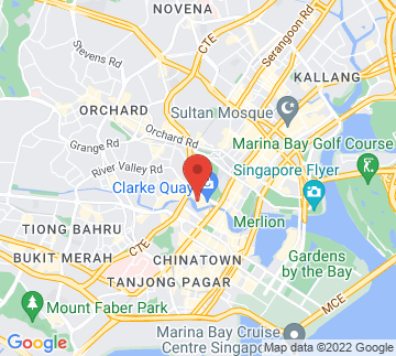 Map showing f.Club Singapore