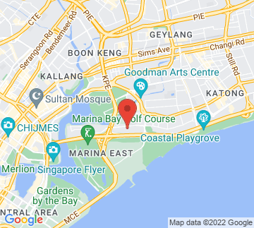 Map showing Singapore Swimming Club