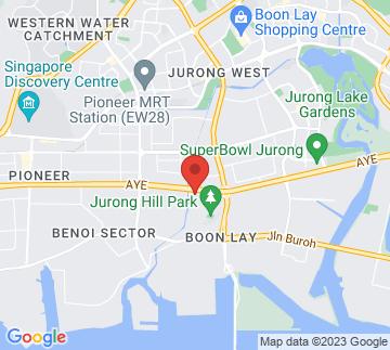 Map showing Jurong Bird Park