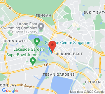 Map showing Science Centre