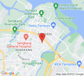Map showing Rivervale Mall
