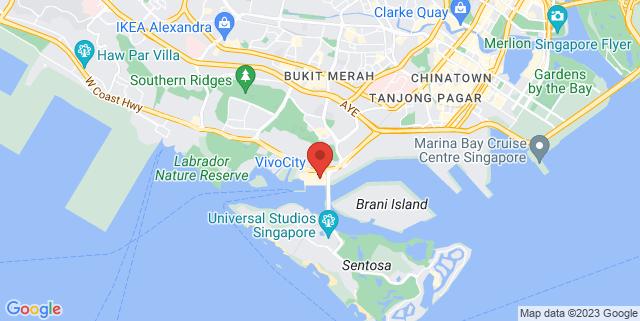 Map showing Vivo City