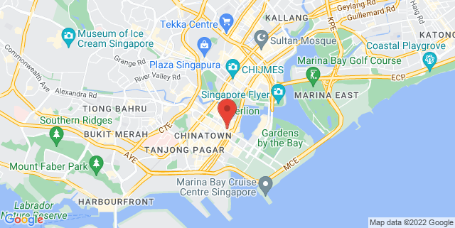 Map showing Tower Club