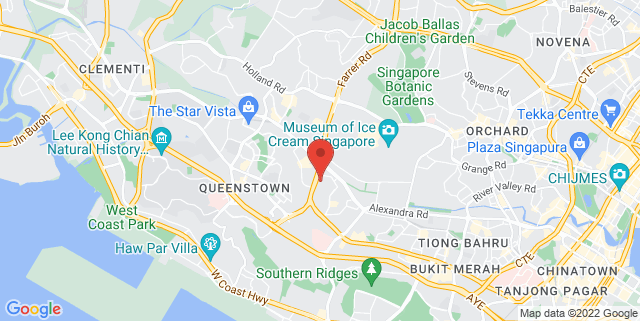 Map showing Management Development Institute of Singapore