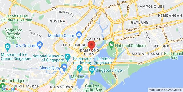 Map showing Hajjah Fatimah Mosque