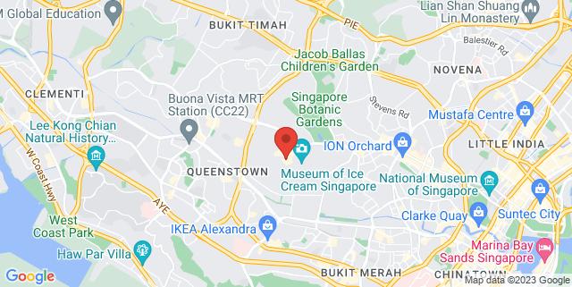 Map showing Dancer's Dream Studio