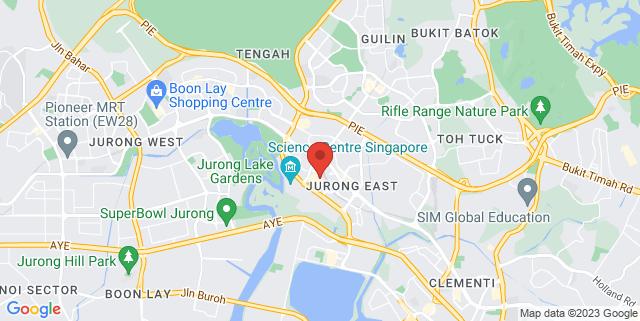 Map showing UOB Kay Hian Jurong East Investor Centre