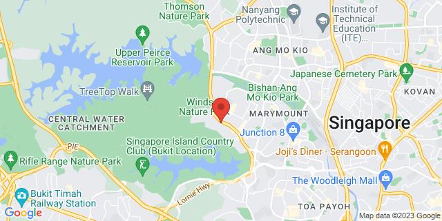 Map showing Thomson Plaza Level