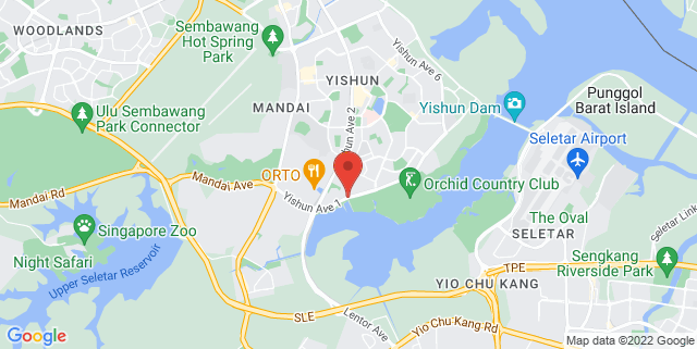 Map showing Edufirst Learning Centre