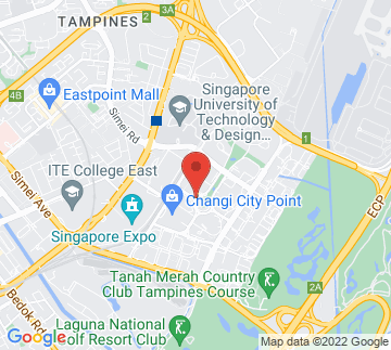 Map showing Changi City Point