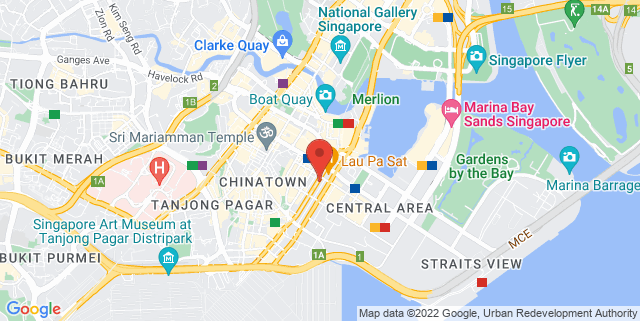 Map showing Xperience Restaurant & Bar