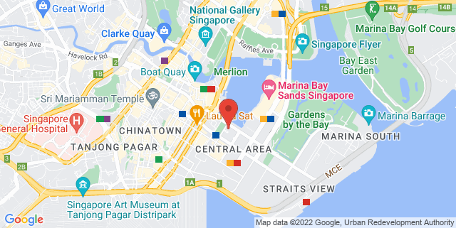 Map showing SaladStop!