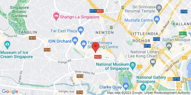 Map showing KUVO