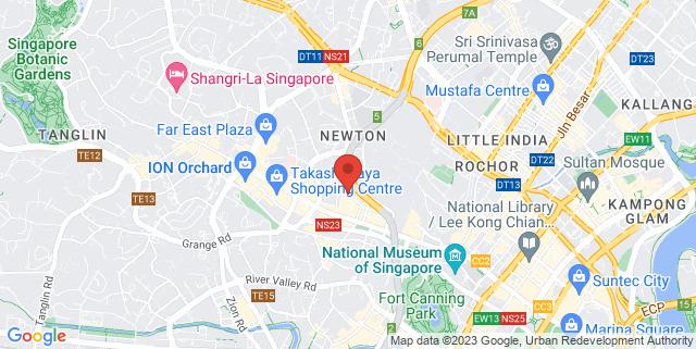 Map showing Clicks Media Pte Ltd