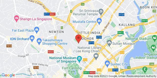 Map showing Kult Kafe