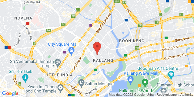 Map showing SoloStep Studio