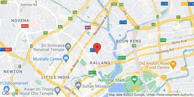 Map showing Vanguard Building