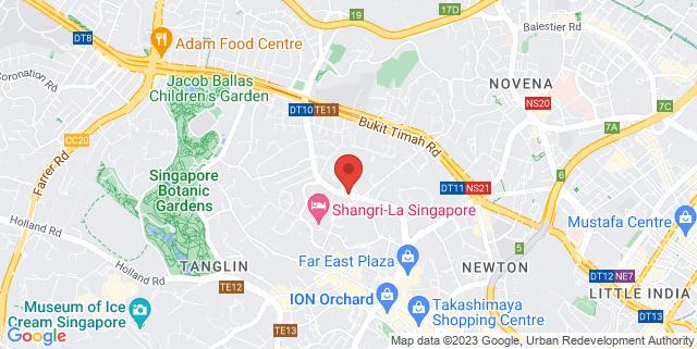 Map showing Novotel On Stevens Hotel