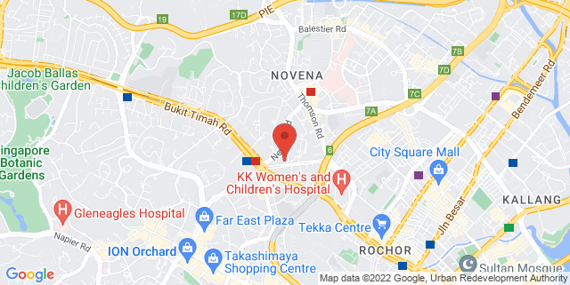 Map showing Chui Huay Lim Club