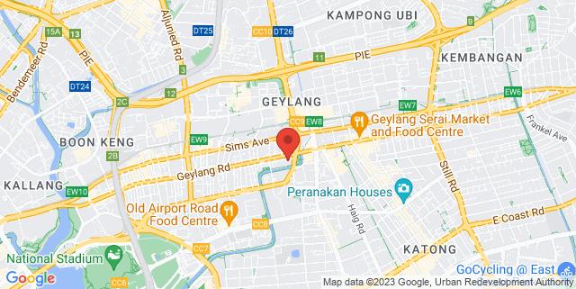 Map showing Grandlink Square