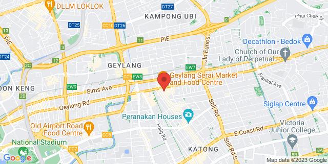 Map showing Joo Chiat Complex