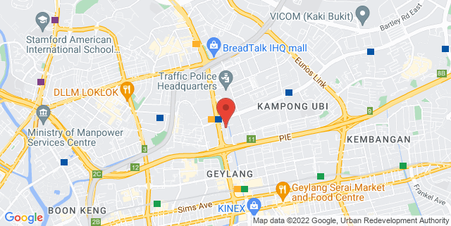 Map showing WeSolutions Asia