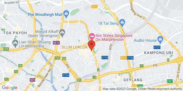 Map showing Genetix S Pte Ltd