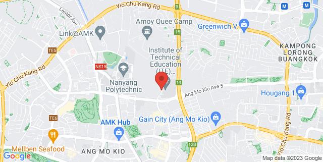 Map showing Cheng San Community Club