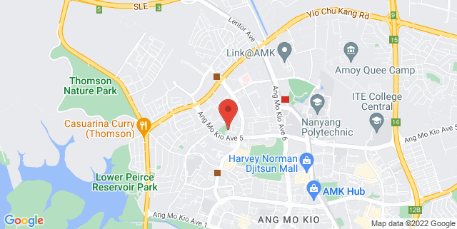 Map showing Self Defence Research Institute