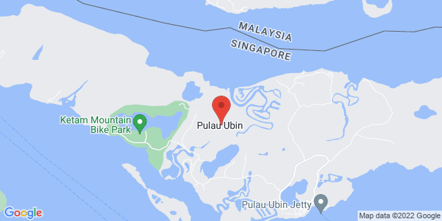 Map showing OBS Campus (Pulau Ubin)