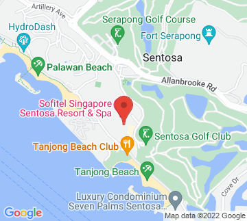 Map showing The Sentosa, A Beaufort Hotel