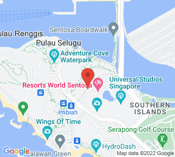 Map showing Merlion Plaza