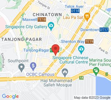 Map showing International Plaza Singapore