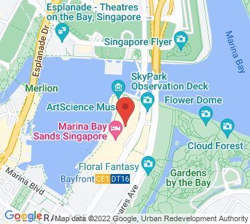 Map showing ArtScience Museum