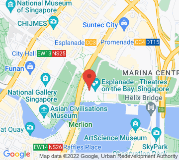 Map showing Esplanade - Rehearsal Studio