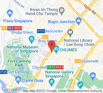 Map showing Chijmes Hall