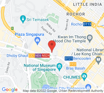 Map showing The Cathay Cineplex